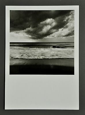 Mimmo Jodice Limited Edition Photo 17x24 Neapel 2000 Napoli B&W Coast Beach Art