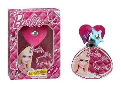 Barbie Geschenk-Set: Eau de Toilette (Parfum) Spray 50ml  für Kinder