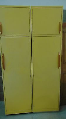 Vintage Retro Yellow Kitchen / storage / bedroom / PROP Units -  Del' / cour'