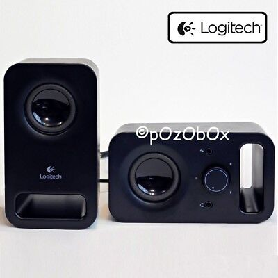 Logitech Desktop Multimedia System Computer Stereo PC Speakers Laptop Sound Game
