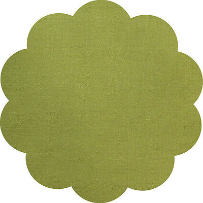 """5"""" CHARM SQUARES - LAWN GREEN - PACK OF 20 - Quilters Deluxe Solids"""