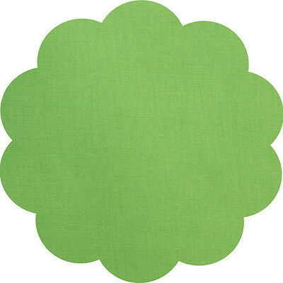 """5"""" CHARM SQUARES - LIME GREEN - PACK OF 20 - Quilters Deluxe Solids"""