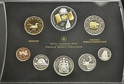 2005 CANADA PROOF DOUBLE DOLLAR SET. Beautiful Silver Collector Coins
