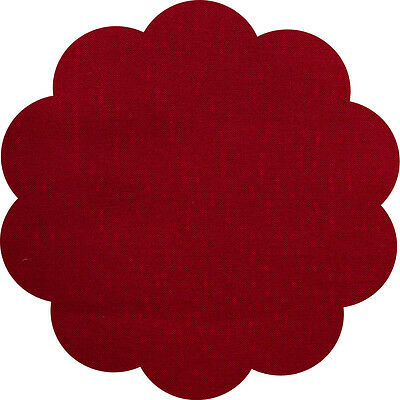 """5"""" CHARM SQUARES - MAROON - PACK OF 20 - Quilters Deluxe Solids"""