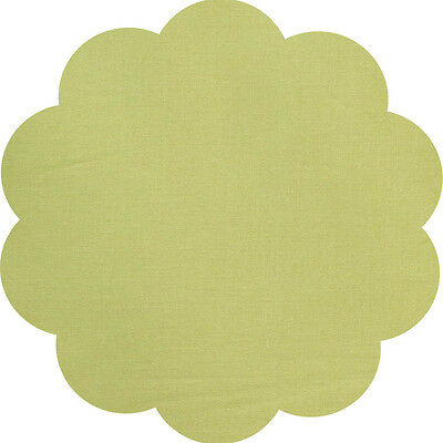 """5"""" CHARM SQUARES - PISTACHIO - PACK OF 20 - Quilters Deluxe Solids"""