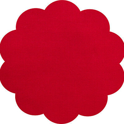 """5"""" CHARM SQUARES - RED - PACK OF 20 - Quilters Deluxe Solids"""