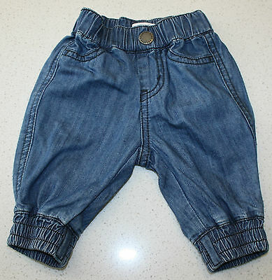 Country Road Baby Boys Or Girls Denim Look Pants.  Size  000.  In Euc - As New