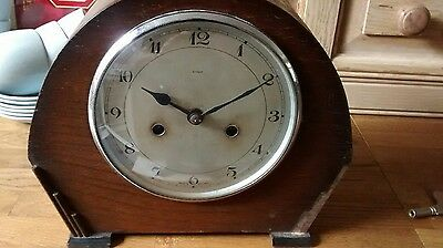 ENFIELD  8 DAY Mantle Clock for spares or repair