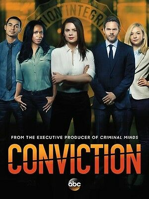 Hayley Atwell / SHAWN ASHMORE / EMILY KINNEY [Conviction] 8x10 10x8 Foto 60577