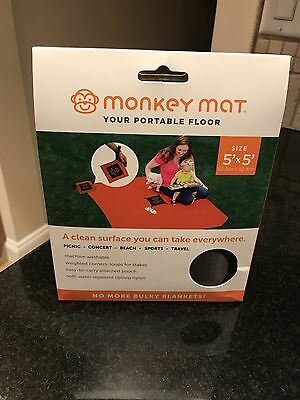 Monkey Mat (Brown) - Clean surface for indoor/outdoor use
