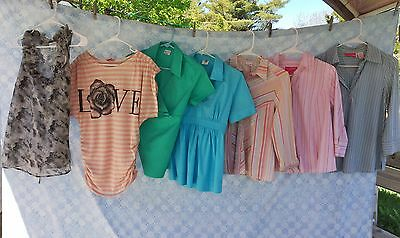 Maternity Clothes Lot Small Spring Summer Tops Blouse