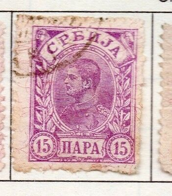 Serbia 1894 Early Issue Fine Used 15p. 157190