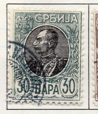 Serbia 1903-1904 Early Issue Fine Used 30p. 157224