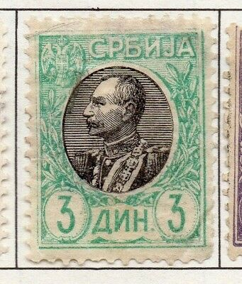 Serbia 1903-1904 Early Issue Fine Mint Hinged 3A. 157227