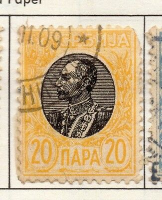 Serbia 1903-1904 Early Issue Fine Used 20p. 157233