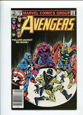 Avengers #230 Hi Grade 9.2 Mournful Cover Canadian Price Variant