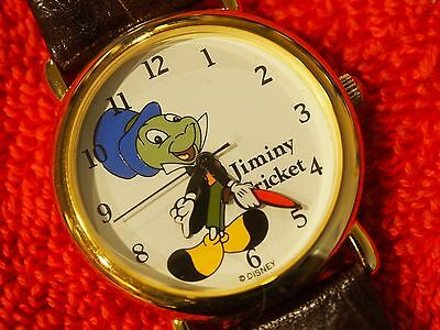 Jiminy Cricket Watch By Pedre From The Disney Store Very Collectible Nice Htf
