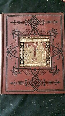 History of Joseph Rev Thomas Champers 1800s Rare Book HB