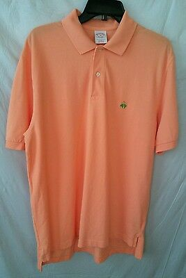 Brooks Brothers Performance Original Fit Polo Shirt Short Sleeve Size M