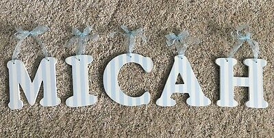 """""""MICAH"""" 6 """" Wall Letters"""