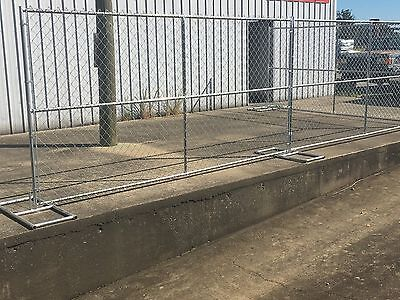 Rent-A-Fence Chain Link Fence Panels, Construction Fence, Temp Fence