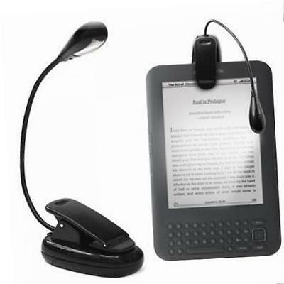 """GadgetBoy Clip-on LED Reading Lamp Flexible Arm for All Amazon Kindles, 6"""""""