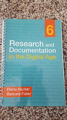 Research and Documentation in the Digital Age 6th edition