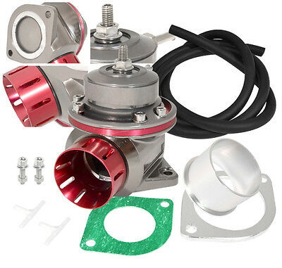 For Ford Type Fv Mm Recirculate Adjustable Turbo Bov Blow Off Valve Unit Red