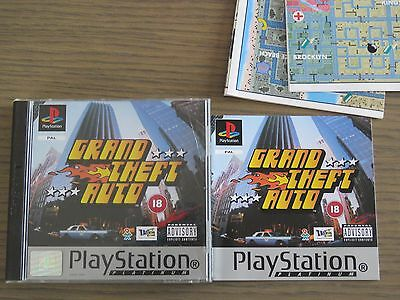 Jeu Playstation Ps1 Grand Theft Auto Complet