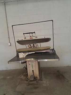 Dry Cleaning Utility Press  stomper