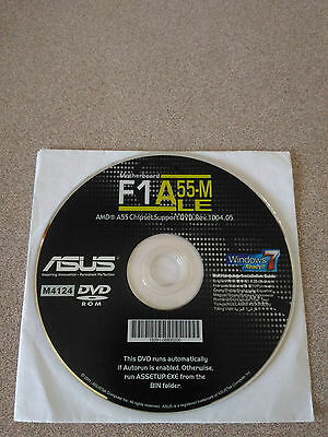 """NEW"" ASUS F1A55-M LE Motherboard Drivers Installation DVD"