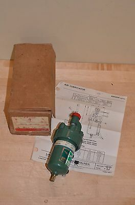 "NOS Lincoln Air Line Lubricator, 1/4"", 250 psi M7 600204    air tool oiler"