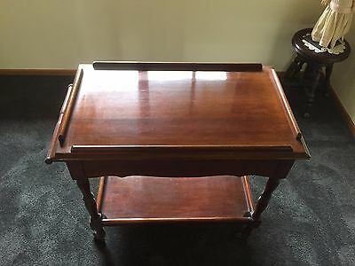 Antique Tea Trolley (with drawer)