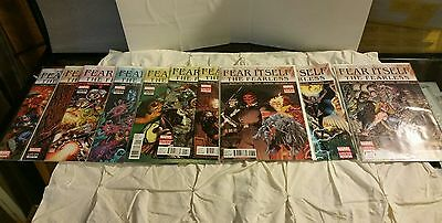 Fear Itself: The Fearless #'s 1, 2,3,4,5,6,7, 8, 10, Marvel Comics 2011 Series