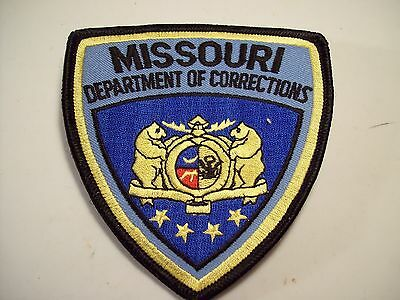 Missouri Police Patch Missouri Department of Corrections