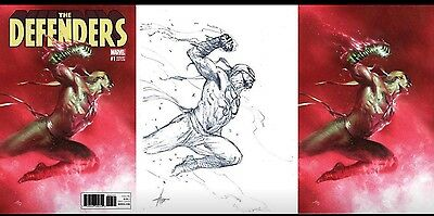 Defenders, The #1 Dell'Otto 3 Book Variant Set Lim To 3000,1000 & 1000 PRESALE