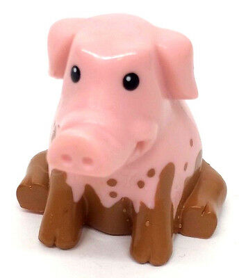 """Chevron Cars 2004 Maddie Mudster Pig accessory part 2"""" Inch Cake Topper"""