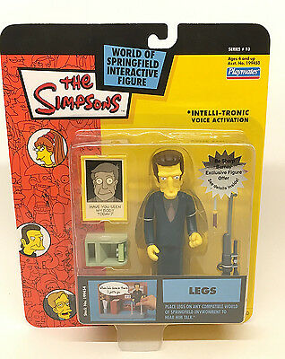 The Simpsons World of Springfield Interactive LEGS Playmates Series 13 NEW