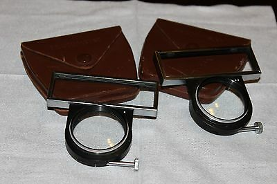 Voigtlander Prominent Proximeter I and II  1 & 2 w/Cases