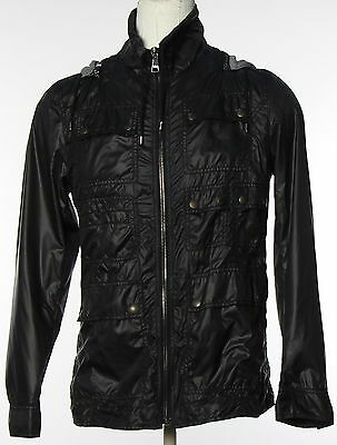 New With Tags Men's DOLCE&GABBANA Black Zip Up Jacket Size 50