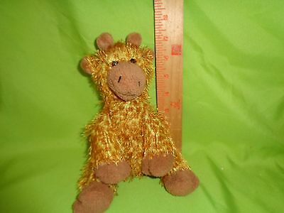TY Beanie Punkies Treetop The Giraffe Plush Stuffed Animal Toy Doll