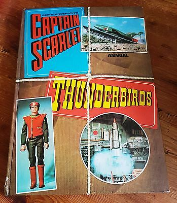 1969 Captain Scarlet And Thunderbirds Annual Gerry Anderson Superb Condition