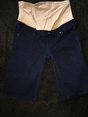 jeans west size 10 Maternity Shorts Denim Jeans