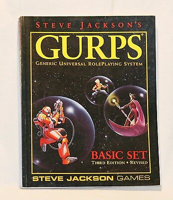 GURPS Basic Set Third Edition revised (Softcover englisch 1994)