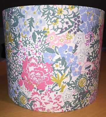 Joules Lampshade Handmade In Chelsea Floral Fabric, Flowers, 25cm FLASH SALE