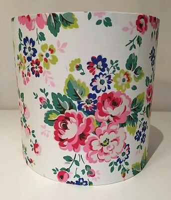Cath Kidston Lampshade, Spray Flowers Floral Handmade 20cm, Vintage, Shabby Chic