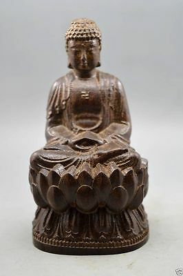 New agalloch eaglewood wood antique hand-carved bodhisattva statue Buddha