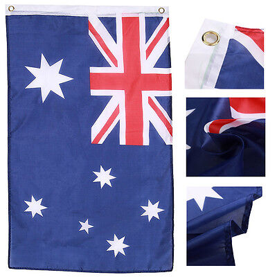 60*90cm 3x2FT Australia Flag Polyester Country Ashes Banner With Metal Grommet