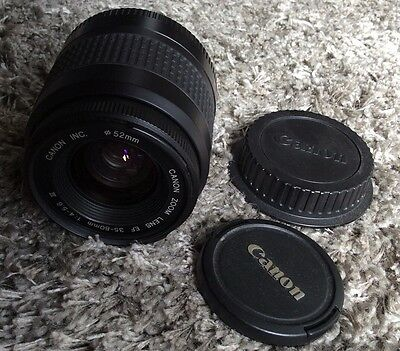 Canon Zoom EF 35-80mm 1:4-5.6 III Camera Lens