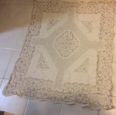 Lovely Lace Vintage Table Cloth